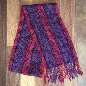 Fair Trade 100% Alpaca Scarf - Made in Bolivia